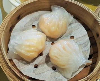 Prawn Dumpling 'Har Kau' with Water Chestnut & Parsley