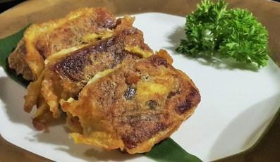 Pan fried Nian Gao