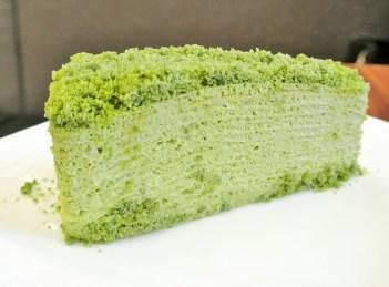 Matcha Green Tea Mille Crepe- RM13