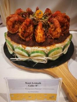 Sizzling Nasi Lemak Cake always in trend