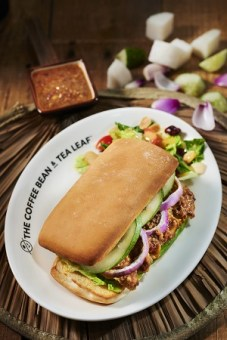 CB&TL Chicken Satay Sandwich