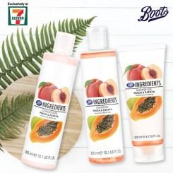 Peach & Papaya Range
