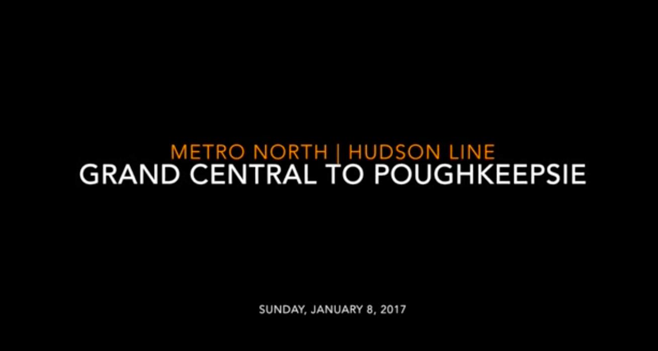 Metro-North: Grand Central to Poughkeepsie