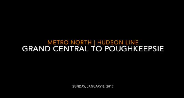Metro-North: Hudson Line Grand Central to Poughkeepsie