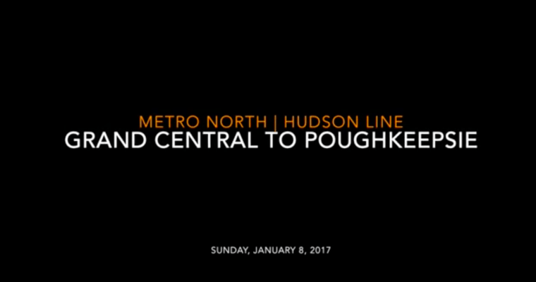 Metro-North: Grand Central to Poughkeepsie