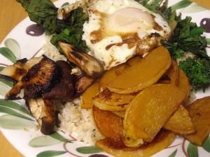 Vegetable Bibimbap