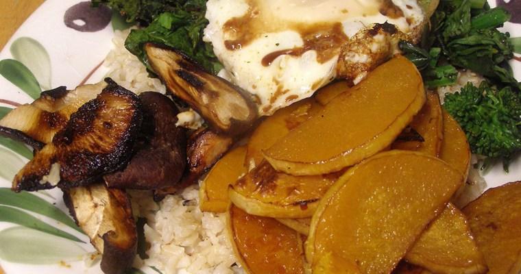 Roasted Vegetable Bibimbap