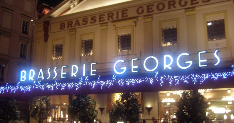 Lyon's Infamous Brasserie Georges