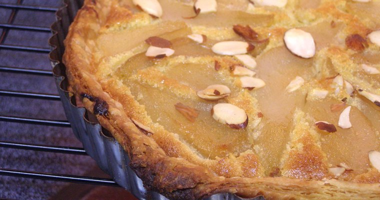 French Pear and Almond Tarte