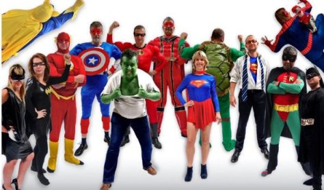 Background: http://www.hinckleytimes.net/news/local-news/leicester-doctors-swap-scrubs-superhero-10536570