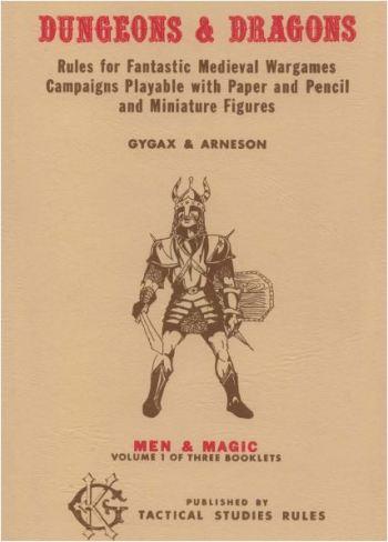 Los juegos de rol en los años 70 Dungeons and Dragons