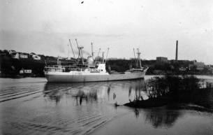 Glomma var full av fraktbåter til langt ut på 1950-tallet.