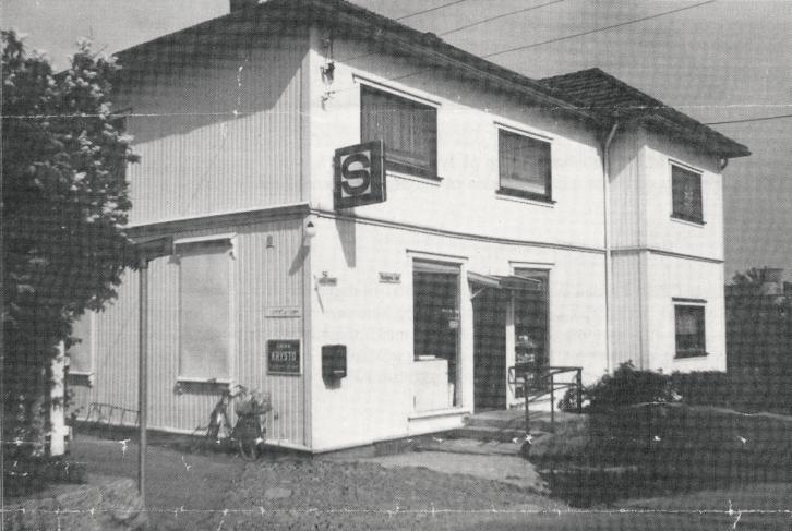Samvirkelaget på Hauge ved nedleggelsen i 1984.