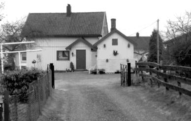 Hilma Johansens forretningsgård og bolig.