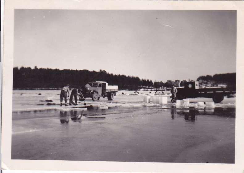 Thorstein Lundestad drev iskjøring på vinteren.