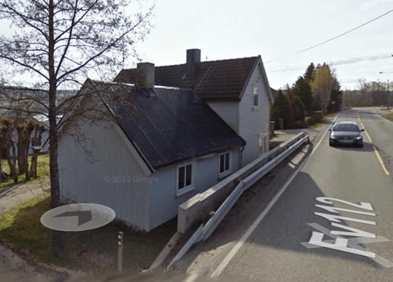 Her i Soliveien 139 lå Anna Louise og Oskar Ramstads landhandel