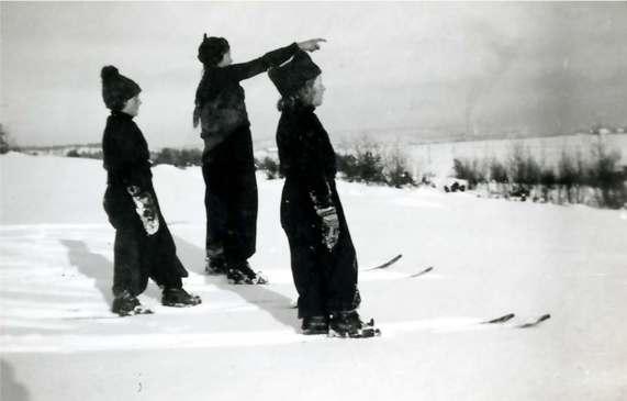 Skitur på Råfeltet rundt 1935