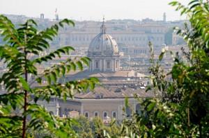 Gianicolo liberato il pi bel panorama di Roma Tavolini e locali quelli rovinano la vista