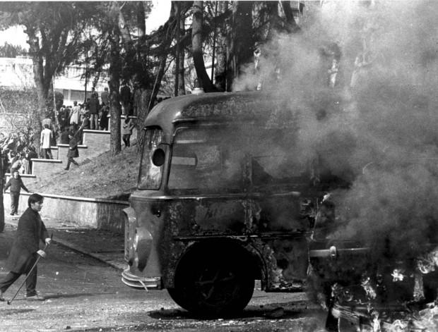 Αποτέλεσμα εικόνας για valle giulia 1968