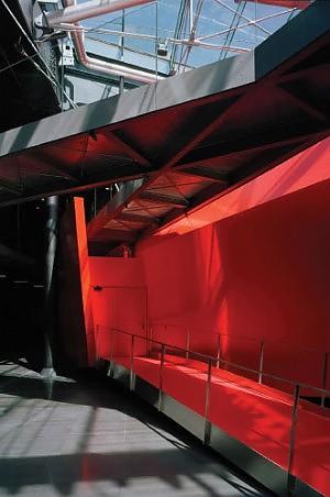 Il mio museo tra rosso e nero colori della vita  Roma