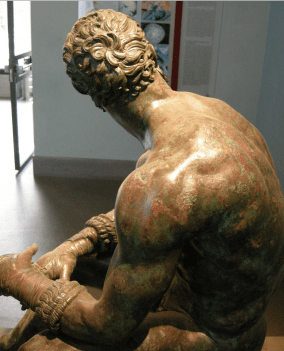 La statue du pugiliste