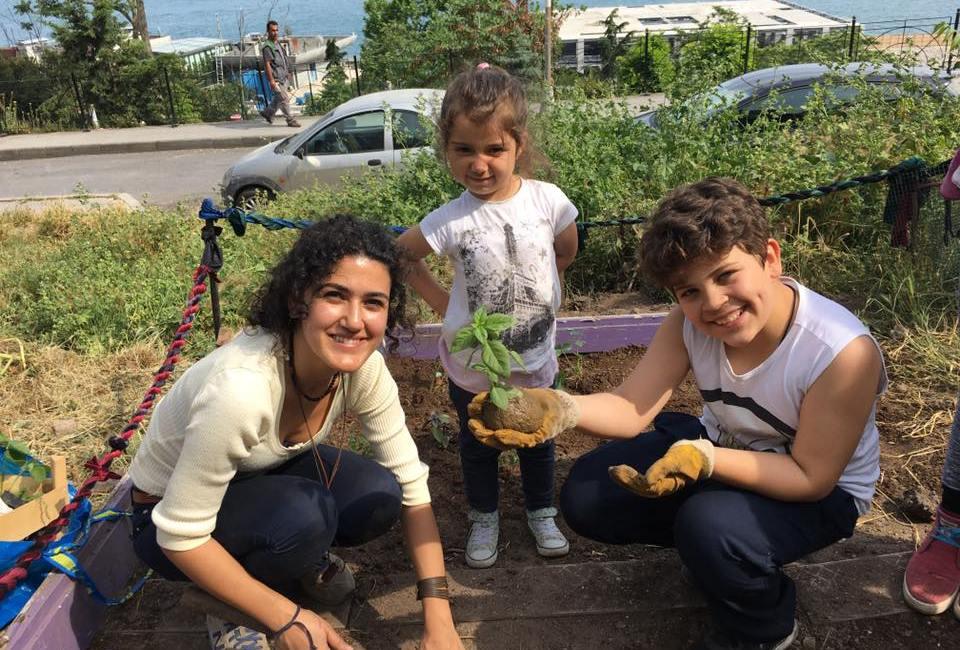 Bostanımızın yeni gönüllüleri Cihangir Münir Özkul Ortaokulu 5/D sınıfı!