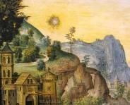 """""""Natività"""" del Pinturicchio (""""sole"""")"""