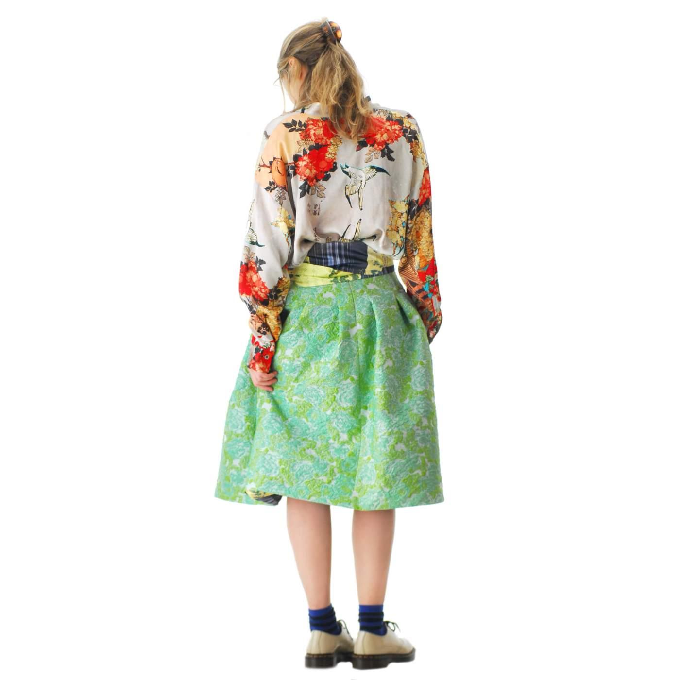 Skirt.100 grün hinten