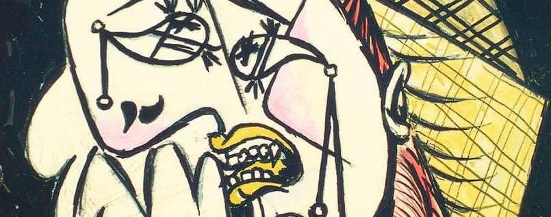 Weinende Frau Picasso