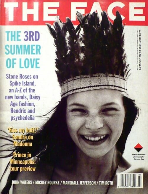 Kate Moss early cover