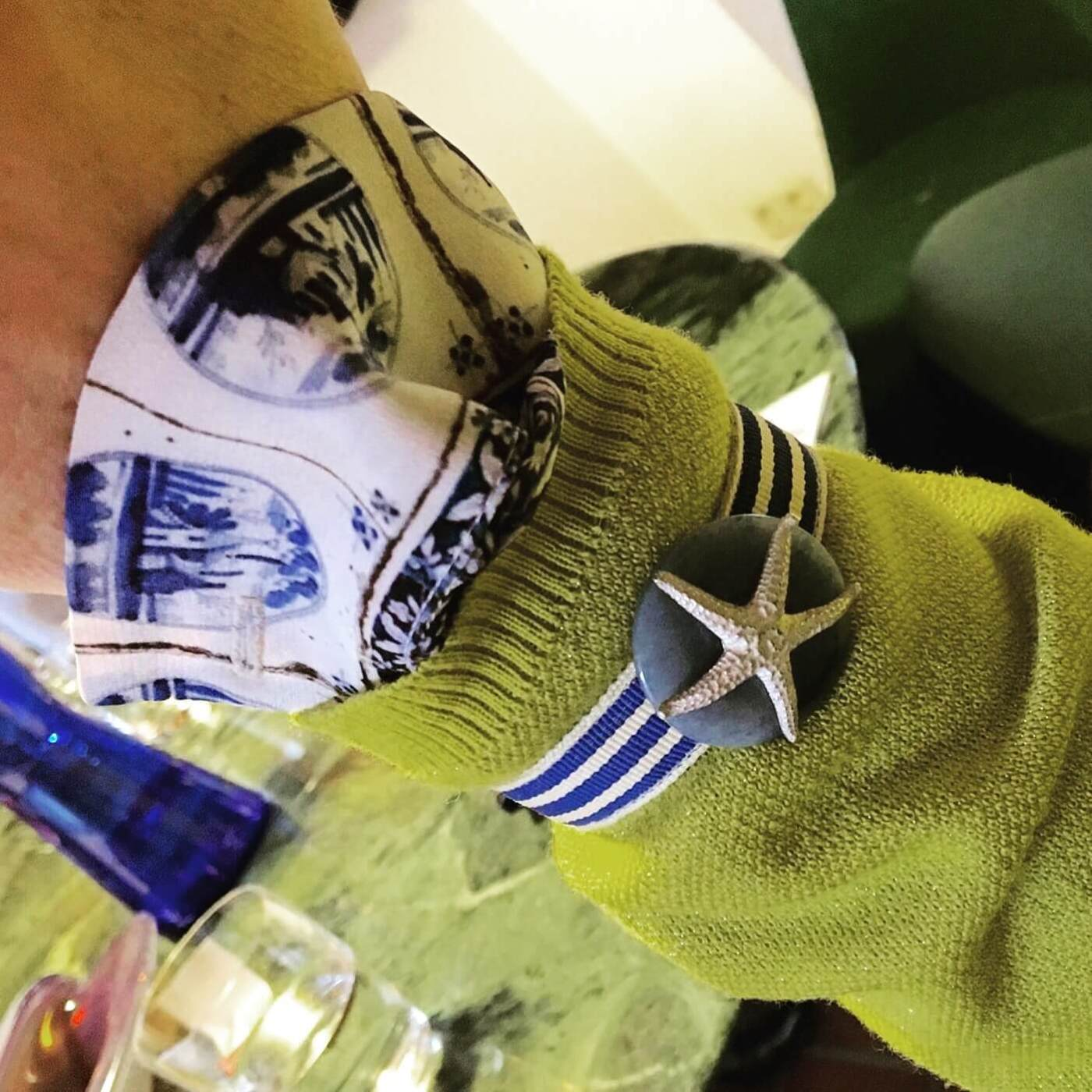 Leinenlos Armband
