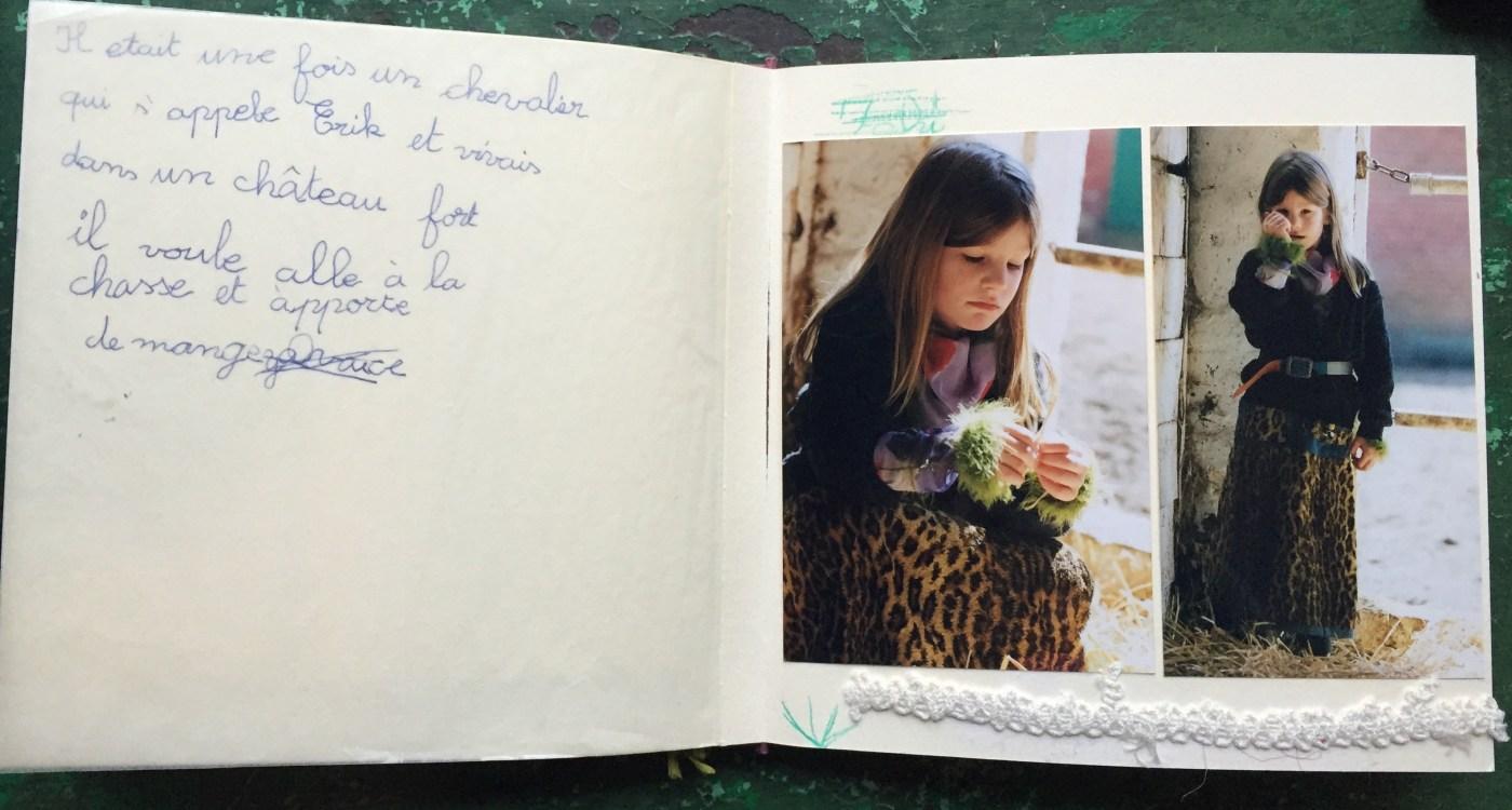Leoparden Rock Poesiealbum
