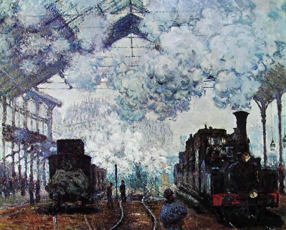Monet Statione Saint Lazare