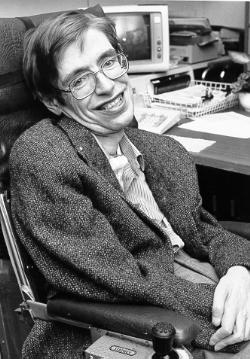 Stephen Hawking bei der Nasa