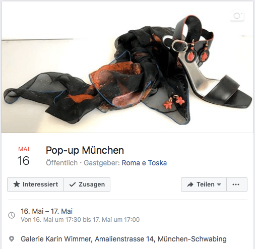 Invitation Pop-up München