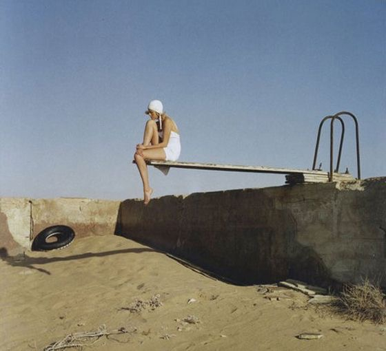 Tim Walker Empty Pool