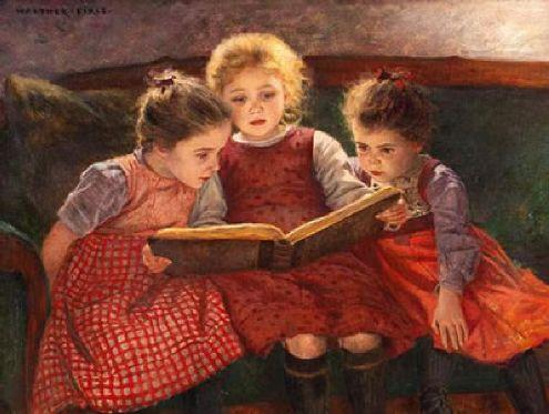 three-reading-girls-the-fairytale