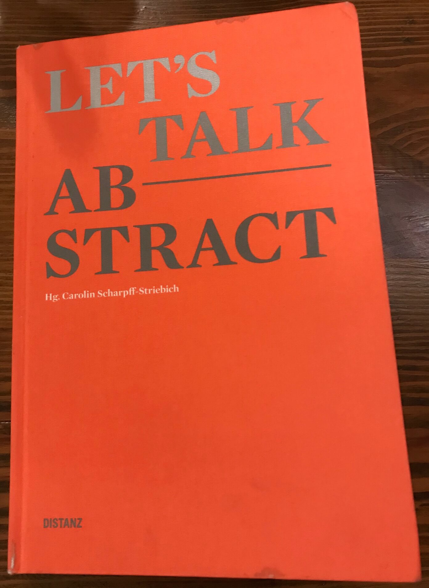 Let's talk Abstract