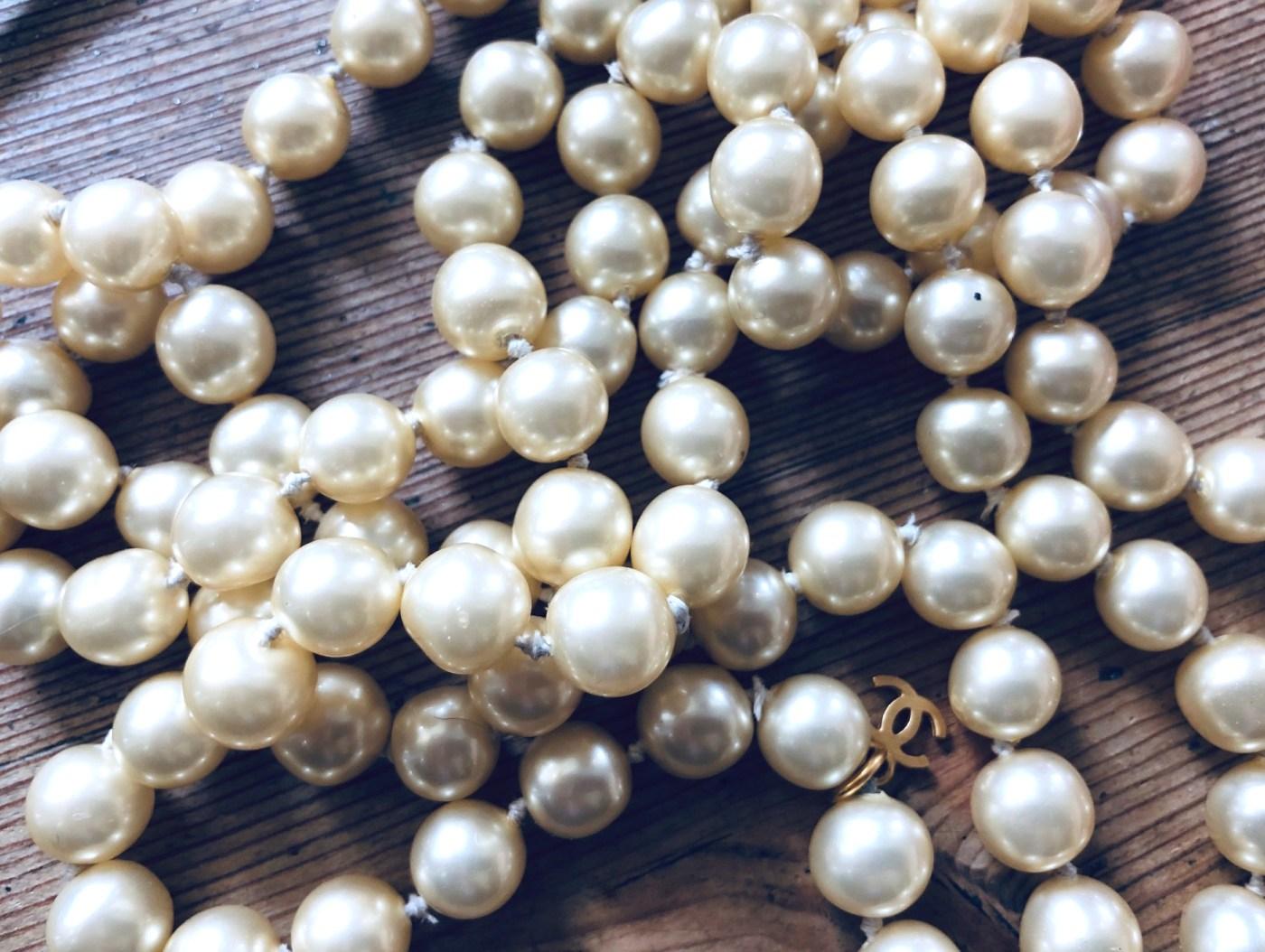 Perlenkette White Dinner
