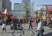 Rotterdam Circusstad op het Schouwburgplein Beeld Peter Schmidt