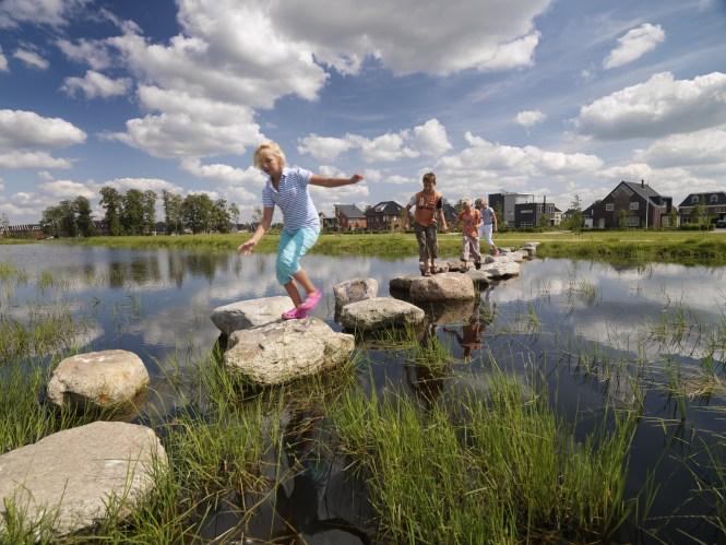 Oproep: ga op zoek naar die plekken waar water - vanwege de kwaliteit en de beschikbaarheid - van onmisbare waarde is voor publieke, agrarische en industriële processen.  Beeld Tineke Dijkstra  www.onswater.nl
