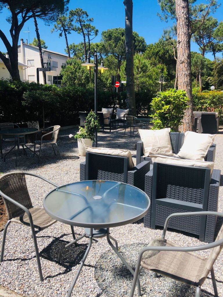 "alt=""garden Hotel Des Bains Milano Marittima"""