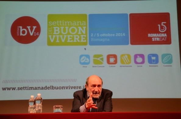 Umberto Galimberti alla Settimana del Buon Vivere - Foto: Fabio Blaco