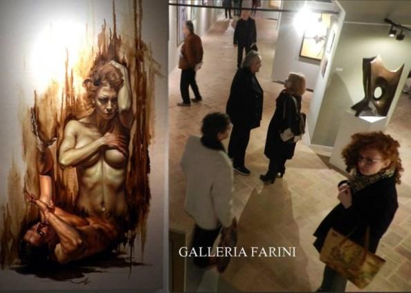 6° COLLETTIVA D'ARTE A GALLERIA FARINI CONCEPT IL 16 MAGGIO 2015   Articolo di Rosetta Savelli