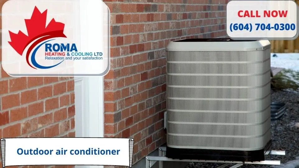 outdoor air conditioner for patio