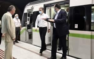 Κυρ. Μητσοτάκης από μετρό Νίκαιας: «Το είπαμε, το κάναμε» (φωτογραφίες)