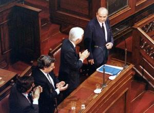 Κωνσταντίνος Μητσοτάκης: «Αποκατάσταση Δημοκρατίας και Μεταπολίτευση» (βίντεο)