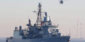 Επιχείρηση «Ειρήνη»: Η Γερμανική φρεγάτα «Αμβούργο» αναλαμβάνει τη διοίκηση