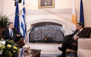 Μητσοτάκης από Κύπρο: Η Ευρώπη ξέρει ποιος είναι ο ταραχοποιός