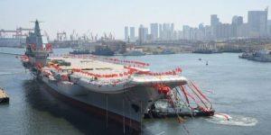 Κίνα: «Πρόσω ολοταχώς» για την κατασκευή του τρίτου αεροπλανοφόρου μέσα στο 2021